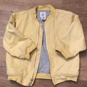 Yellow toddler jacket, 3T